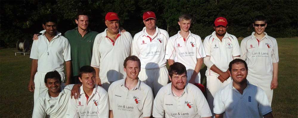 Milton Cricket Club midweek team photo