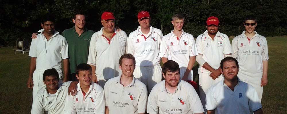 Milton Cricket Club midweek team photo