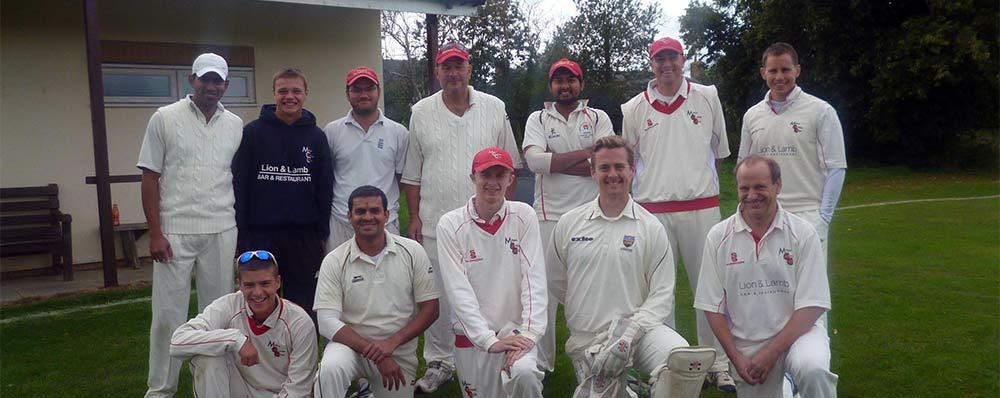 Milton Cricket Club team photo