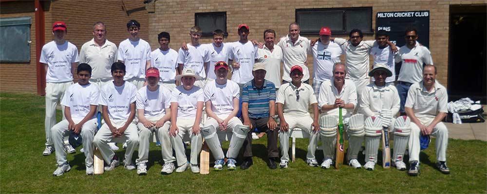 Milton Cricket Club Cambridgeshire team photo